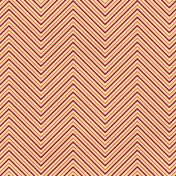 Chevron 03- Red & Orange