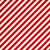 Stripes 94- Red & White