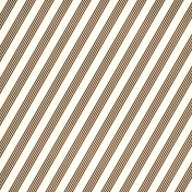 Stripes 95- Brown & White