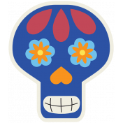 Skull Sticker 05- Mexico