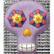 Felt Skull 04- Mexico
