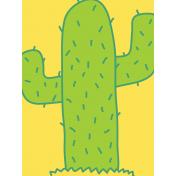 Cactus Journal Card- Mexico
