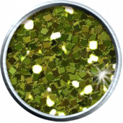 Olive Green Glitter Brad 05b- Mexico
