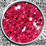 Pink Glitter Brad 05b- Mexico