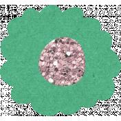 Glitter Flower Set 022n- Mexico
