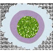 Glitter Flower Set 022o- Mexico