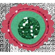 Glitter Flower Set 022q- Mexico
