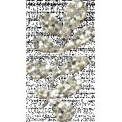 Glitter Flower Set 023M- Mexico