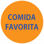 Mexico Labels- Comida Favorita (Favorite Food)
