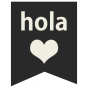 Mexico Labels- Hola (Hello)
