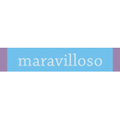 Mexico Labels- Maravilloso (Wonderful)