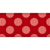 Medium Ribbon- Polka Dots 02- Red