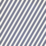 Stripes 95- Blue & White
