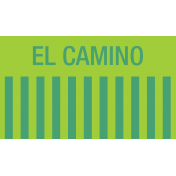 Mexico Labels- El Camino (The Road)