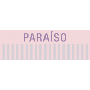 Mexico Labels- Paraiso (Paradise)