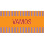 Mexico Labels- Vamos (Let's Go)