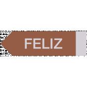 Mexico Labels- Feliz 2 (Happy)