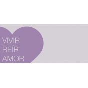 Mexico Labels- Vivir, Reir, Amor (Live, Laugh, Love)