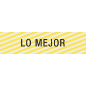 Mexico Labels- Lo Mejor (The Best)