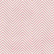 Chevron 03- Pink & White