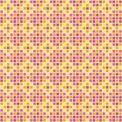 Mexico- Squares Paper- Multicolor
