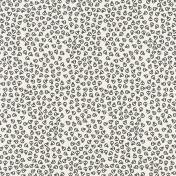 Mexico- Skulls Paper- Black & Gray