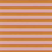 Mexico- Stripes Paper- Brown & Orange