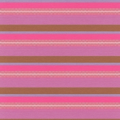 Mexico- Stripes & Zippers Paper- Pink & Brown