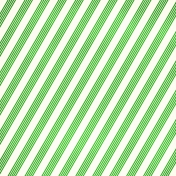 Stripes 95- Green & White