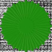 Paper Flower 15- Green