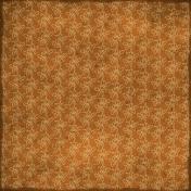 Floral Paper- Brown