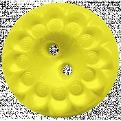 Yellow Button- Tea cup