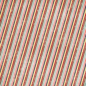 Stripes 31- Distressed- Red & Pink