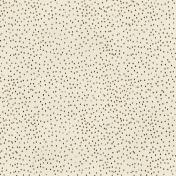 Polka Dots 51- Brown & White
