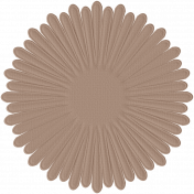 Paper Flower 15- Tan
