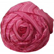 Fabric Flower 021- Tea Cup