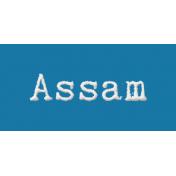 Word Bit: Assam- Tea Cup