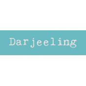 Word Bit: Darjeeling- Tea Cup