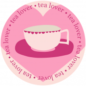 Word Art 3- Tea Cup