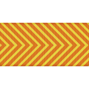 Fat Ribbon - Chevron 01 - Orange