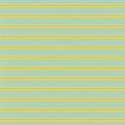 Tea Cup- Striped Paper