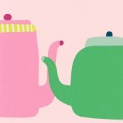Tea Cup- Teapots Paper