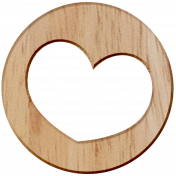 Wooden Heart- City Bicycle