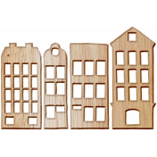 Wooden Houses- City Bicycle