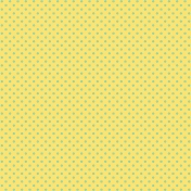 City Bicycle- Floral Paper- Yellow & Blue
