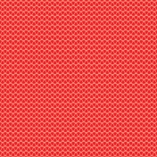 City Bicycle- Ornamental Paper- Red