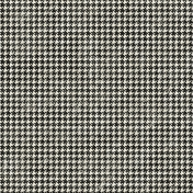 Houndstooth 01- Black & White