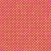 Polka Dots 23- Orange & Pink
