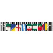 World Cup Bunting Twine B
