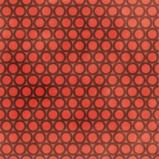 Circles 28- Coral & Brown